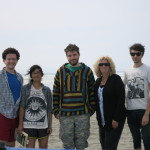 The gang at Ocean Shores for my mom's birthday